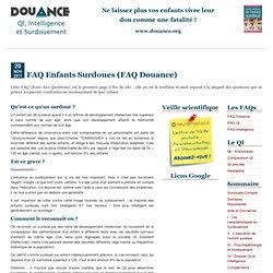 DOUANCE.org : qu'est-ce qu'un surdoué ?