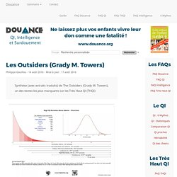 [DOUANCE] Les Outsiders (Grady M. Towers)