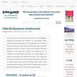 [DOUANCE] FAQ QI (Quotient Intellectuel)