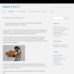 Dave Trott - Double Arm Barn Door