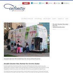Double Decker Bus Rental for Events Dubai