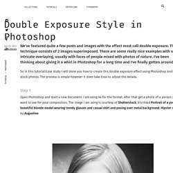 Double Exposure Style in Photoshop