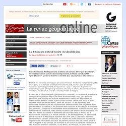 La Chine en Côte d'Ivoire : le double jeu