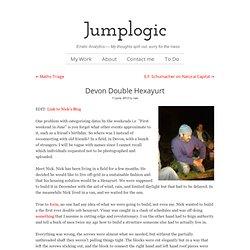 Devon Double Hexayurt – Jumplogic