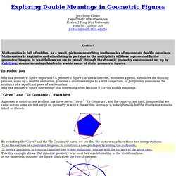 geometric double-meanings