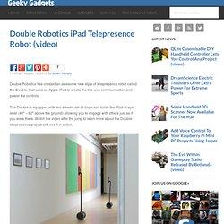 Double Robotics iPad Telepresence Robot
