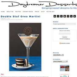 Double Stuf Oreo Martini