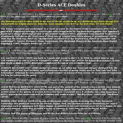 ACE SF Doubles Image Library - D Letter-Number series - science fiction - science fiction writers and artists