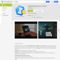 doubleTwist Player - Android Market