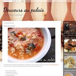 Douceurs au palais: Soupe riz et tomates