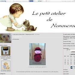 p'tit doudou - Le petit atelier de Nanoucrochet