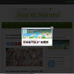 Les doudounes Moncler, à plus de 1000 euros plument les oies vivantes