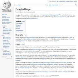 Douglas Harper