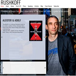 Douglas Rushkoff - Home