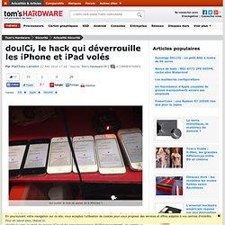 doulCi, le hack qui déverrouille les iPhone et iPad volés