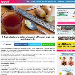 5 Anti-douleurs naturels aussi efficaces que les médicaments