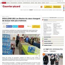 DOULLENS (80) Les Restos du cœur changent de locaux mais pas d'adresse - Doullens