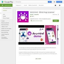 doUmind - Mind map scanner – Applications sur GooglePlay