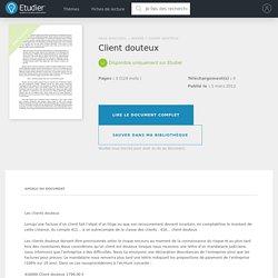 Client douteux - Comptes Rendus - Curieuse43