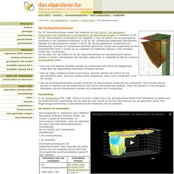 3D Subsurface Viewer