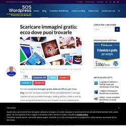 Dove scaricare immagini gratis per il tuo sito web e blog