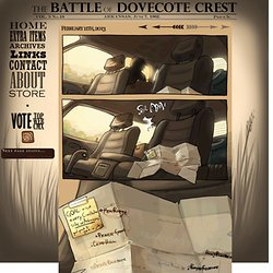 Dovecote Crest: a Civil War reenactment webcomic