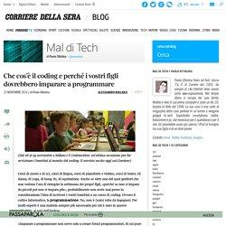 Coding sul Corriere.it