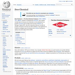 2001 Dow Chemical acquiert Union Carbide