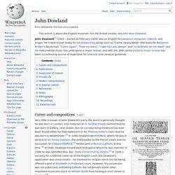 John Dowland
