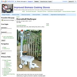 Improved Biomass Cooking Stoves