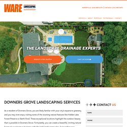 Downers Grove Landscaping Services