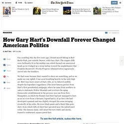 How Gary Hart's Downfall Forever Changed American Politics