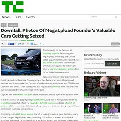 Downfall: Photos Of MegaUpload Founder's Valuable Cars Getting Seized