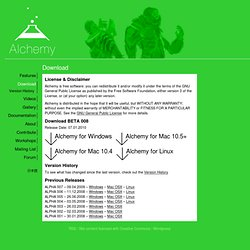 Download | Alchemy