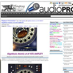 AlgoMusic Atomic v1.0 VSTi