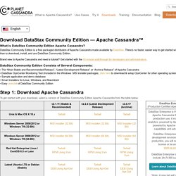 Download NoSQL Apache Cassandra