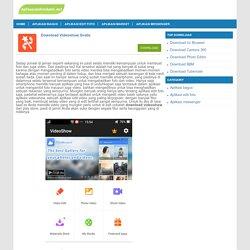 Download Aplikasi Videoshow - Videoshow versi terbaru