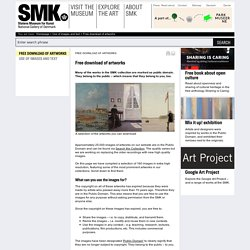 Free download of artworks - Statens Museum for Kunst
