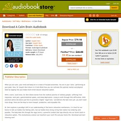 Download A Calm Brain Audiobook