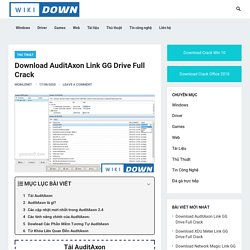 【Download】AuditAxon Link GG Drive Full Crack