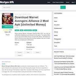 Download Marvel Avengers Alliance 2 1.3.2 Mod Apk [Unlimited Money]