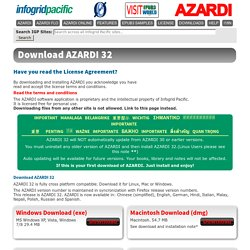 Download AZARDI - AZARDI@IGP