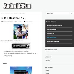 Download R.B.I. Baseball 17 Android APK Game for Free - Android4Fun.net