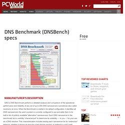 Download DNS Benchmark (DNSBench)