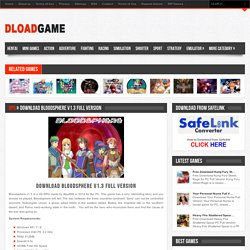 Download Bloodsphere v1.3 Full Version