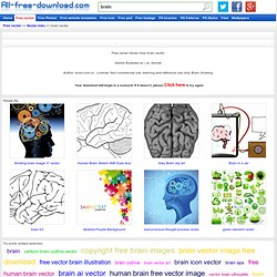 Download brain vector free Vector misc