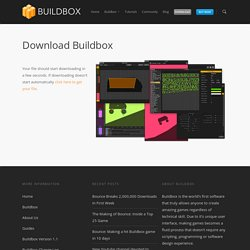OSX Download - Buildbox - game making software