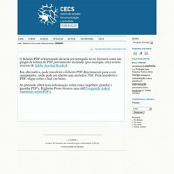 CECS - Publicações / eBooks