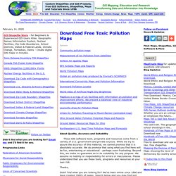 Download Free Toxic Chemical Pollution Maps