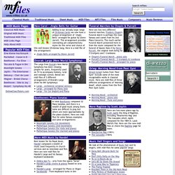 Free MIDI Files - download classical, traditional & original midis